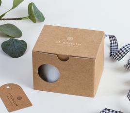 Schachtel für Kaffeetasse