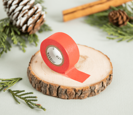 Roter Mini Washi Tape
