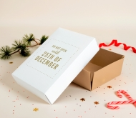 Caja 25 de diciembre