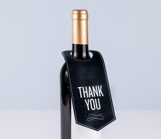 Etichetta collo di bottiglia