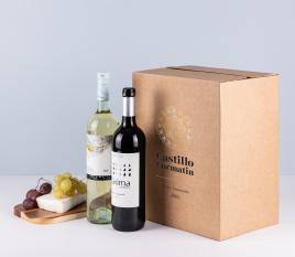 Schachtel für Champagner-Flaschen