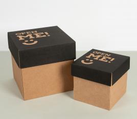 Caja para envíos con tapa