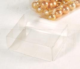 Kleine transparente Schachtel