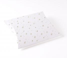 Schachtel mit Sternen-Oberflächenstruktur