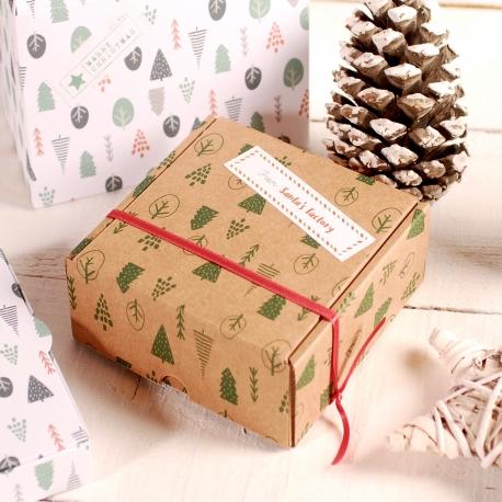 Decoración caja de navidad