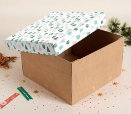 Weihnachtsbox für Hüte