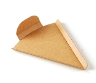 Pizza slice holder