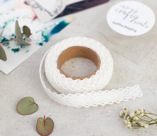 Fabric tape encaje entredos