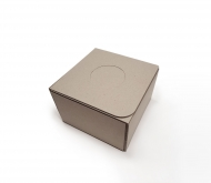 100% recycled self-assembly cardboard box