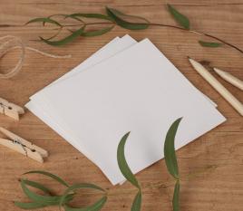 Cartulinas papel reciclado 12 x 12cm
