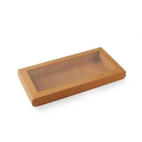 Caja con ventana para galletas