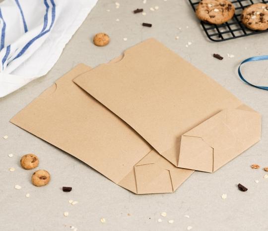 Kit de 20 Bolsas cilíndricas de papel kraft