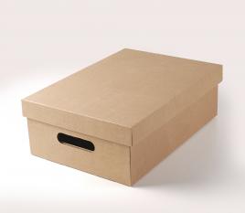 Scatola di cartone con coperchio per verdure