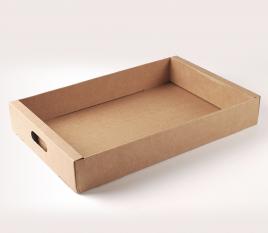 Bandeja de cartón para frutas y verduras