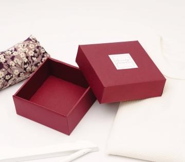 Caja forrada pequeña Marie Kondo