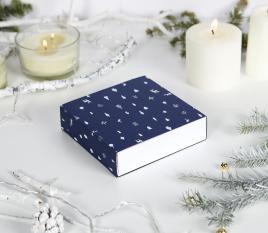 Caja para regalos de navidad