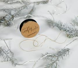 Corda dorata per regali