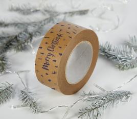 Cinta adhesiva navidad