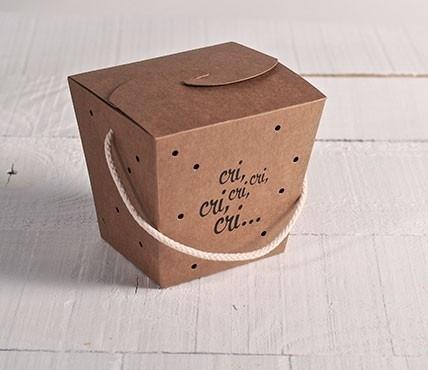 Caja para grillos