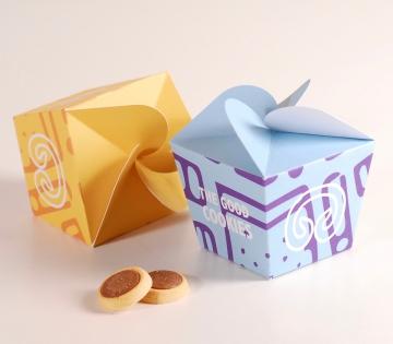Caja divertida para galletas