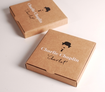 Vintage-style box for invitations