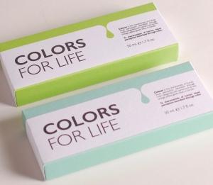 Caja colorida con multiples usos