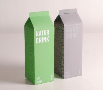 Caja para bebida casera
