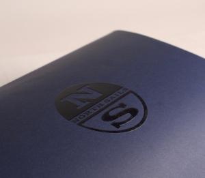 Midnight-blue gift box