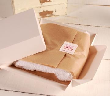 Box for organic clothing
