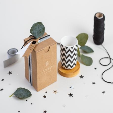 Caja de regalo para tazas sin asa