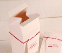 Geschenkbox in Form von Tetrabrik