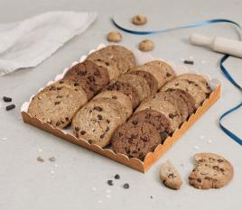 Bandeja de cartón para galletas