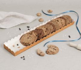 Kartontablett für Kekse