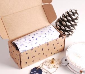 Weihnachtliche Parfümschachtel