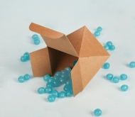 Cardboard box for sweets