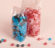 Block Bottom Side Gusseted Cellophane Bags