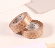 Washi tape gold mosaic