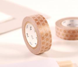 Washi tape mosaico dorado