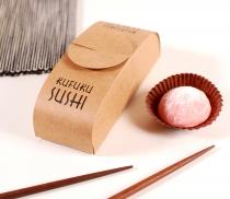 Scatola di cartone elegante per sushi