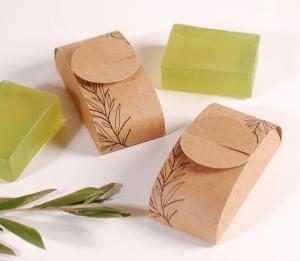 Öko-Schachtel für Seifen