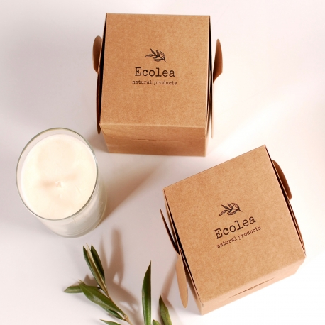 Box for handmade candles