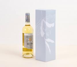 Caja de vino básica individual