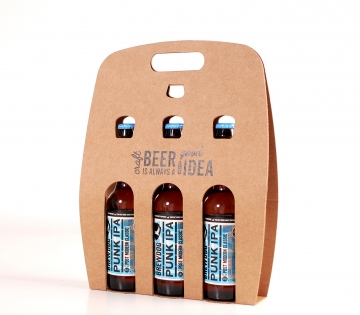 Customisable box for three beers