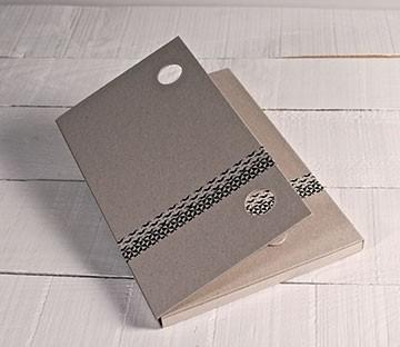 Cartellina di cartone per consegnare dei documenti