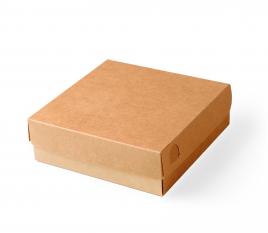 Quadratische Kartonschachtel für Sushi