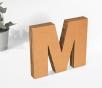 Lettere in cartone