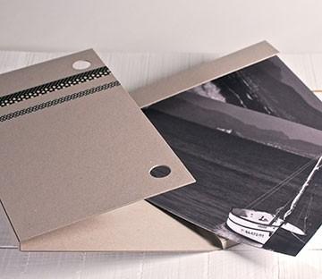 Cartellina  in cartone in formato DIN A3