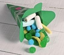 Caja cucurucho para fiestas