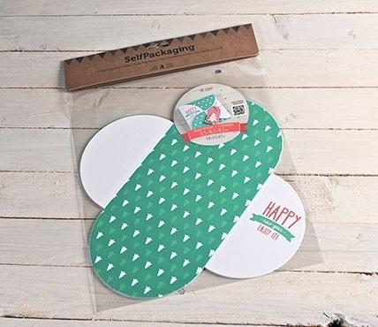 Kit de cajas navideñas tipo sobre