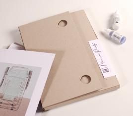 Millboard document wallet